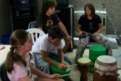 Stage musique percu - 2007