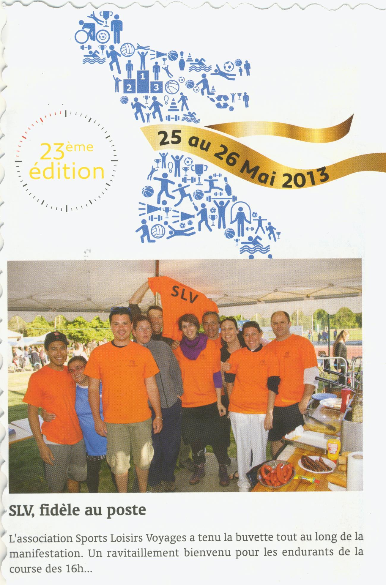 Info Juin 2013 24h du Sport